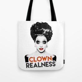 """Clown Realness"" Bianca Del Rio, RuPaul's Drag Race Queen Tote Bag"