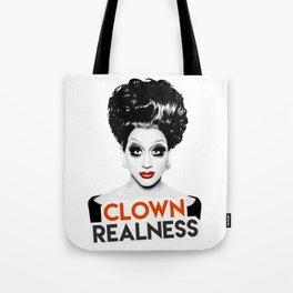 """Clown Realness"" Bianca Del Rio, RuPaul's Drag Race Queen Tote Bag"