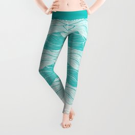 The Calm and Stormy Seas Leggings