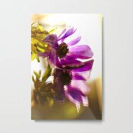 Flower Reflection Like A Kiss #decor #society6 Metal Print