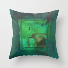 color abstract 5 Throw Pillow