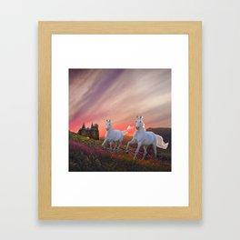 A Scottish Fantasy Framed Art Print