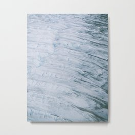 Ice fields of Alaska Metal Print