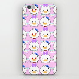 Day And Donald Pattern iPhone Skin