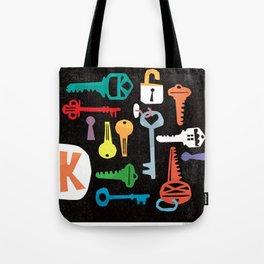 """""""K"""" Tote Bag"""