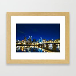 Portland Nights Framed Art Print