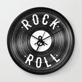 Rock & Roll Wall Clock