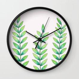 little plant friends Wall Clock