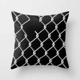 Can't Fence Me In Inverted Throw Pillow