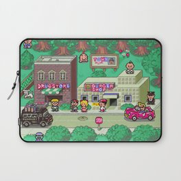 Earthbound town Laptop Sleeve