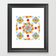 Beaux Arts Mandala Framed Art Print