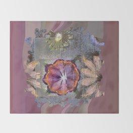 Stickball Au Naturel Flower  ID:16165-150329-07211 Throw Blanket