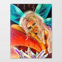 July Playful Goddess Canvas Print