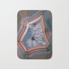 Earth treasures - colorful agate Bath Mat