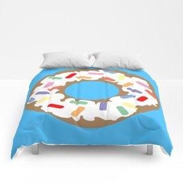 DONUT - VECTOR GRAPHIC Comforters