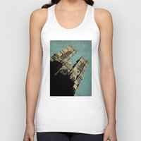 downton abbey Tank Tops featuring Westminster Abbey by sinonelineman