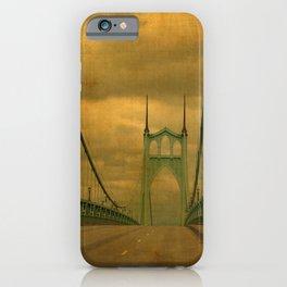 ST JOHNS BRIDGE iPhone Case