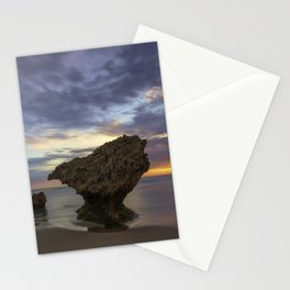 Sunset at Monforts Stationery Cards