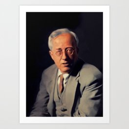 Gustav Holst, Music Legend Art Print