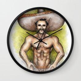Sexy Mexican Revolutionary Wall Clock