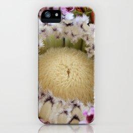 Fur Coat Protea iPhone Case