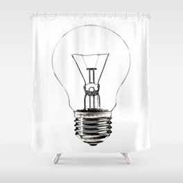 I Have an Idea!  Let there be light... Shower Curtain