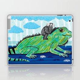 Iggy and The Marmoset Laptop & iPad Skin