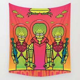 Mars Attacks Wall Tapestry