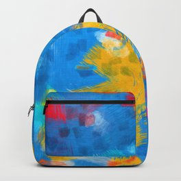 Colorful paint brushes Backpack