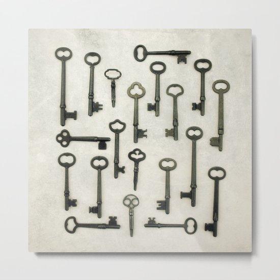 The Key Collection Metal Print