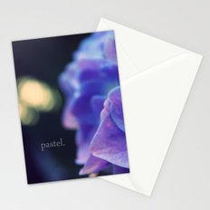 Blue Pastel: Hydrangea Stationery Cards