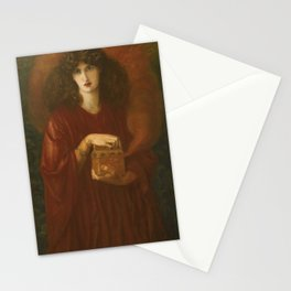 Dante Gabriel Rossetti - Pandora Stationery Cards