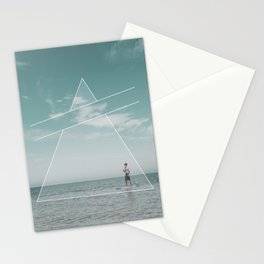Paddle Triangle Stationery Cards
