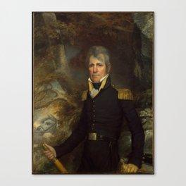 General Andrew Jackson, John Wesley Jarvis Canvas Print