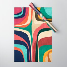 Impossible contour map Wrapping Paper