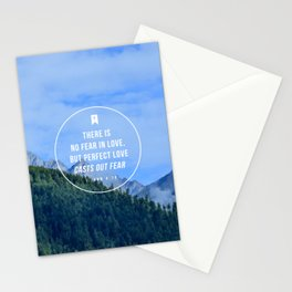 1 John 4:18 Stationery Cards
