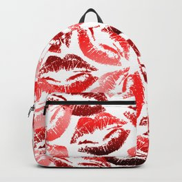 Red Kisses Backpack