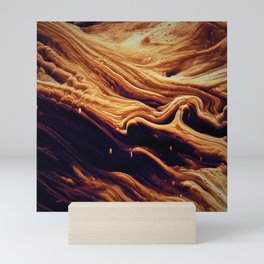 Abstract Voxel Landscape 14 Mini Art Print