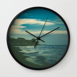 Good Bye Blue Sky Wall Clock