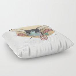 cráneo de vaca Floor Pillow