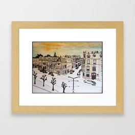 2013 - uitzicht den haag  Framed Art Print