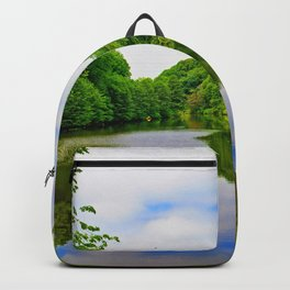 Serenity in Clove Lakes Park Backpack