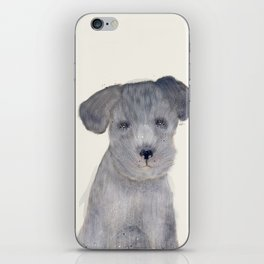 little schnauzer iPhone Skin