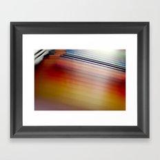 Gradient Framed Art Print
