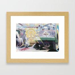 Away We Go Framed Art Print