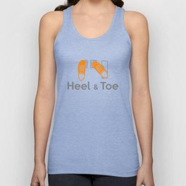 Heel & Toe Unisex Tank Top