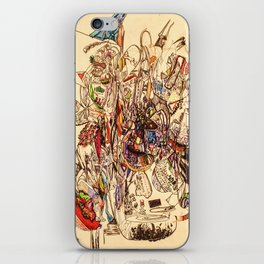 The Seven Head Dresses of Lucifer iPhone Skin