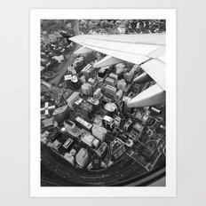 Wings over Rosslyn Art Print
