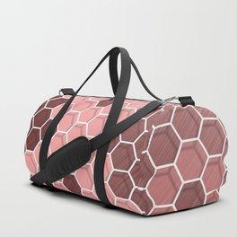 Six corners pattern 25 Duffle Bag