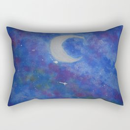 Night sky Rectangular Pillow